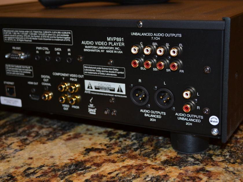McIntosh  MVP891 Audio Video BluRay Player
