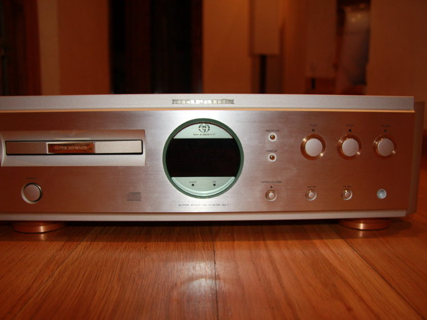 Marantz SA-1 230V New transport mechanism!