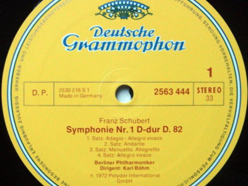 DG / BOHM-BPO, - Schubert The Complete 8 Symphonies, NM, 5LP Box Set!