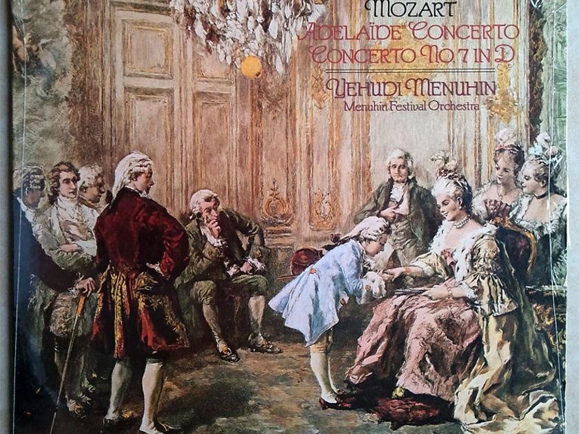Sealed/Angel/Menuhin/Mozart - Adalaide Concerto, Violin Concerto No.7 in D