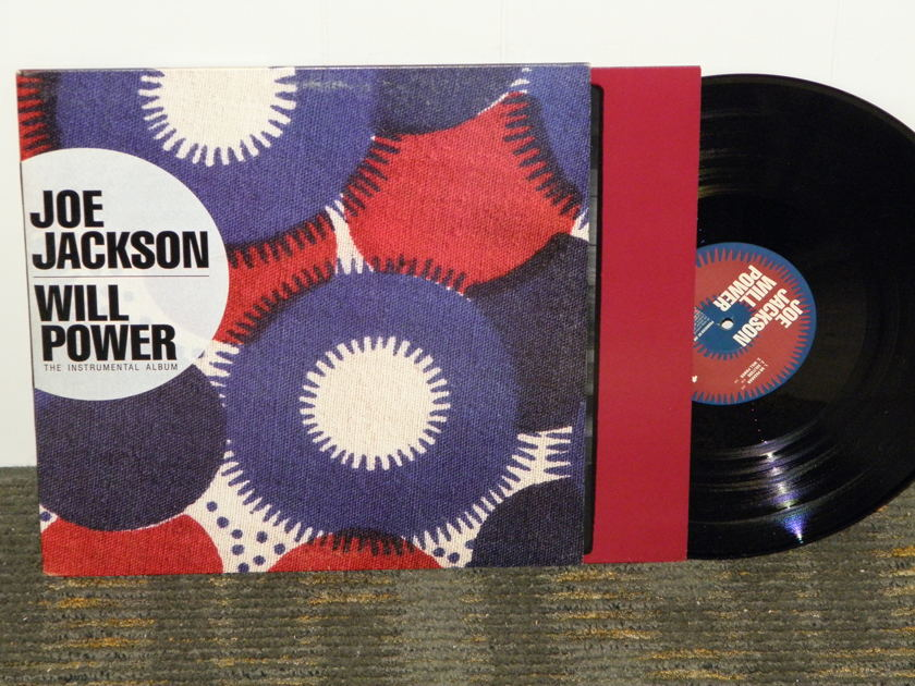 Joe Jackson - Will Power A&M SP 3908 Promo QUIEX II/KC-660 pressing