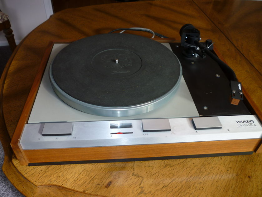 Thorens TD125AB MkII  Turntable with Sumiko MMT Arm