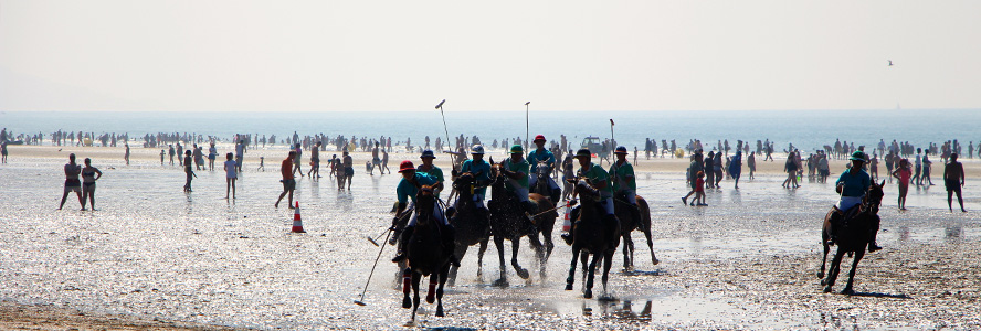 Paris - Deauville International Polo Club - Beach Polo