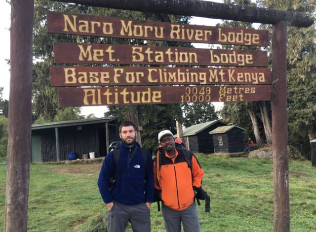 Hike up Mt Kenya the Sirimon route