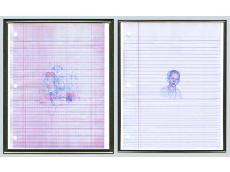 Chris Chambers - untitled (ryan. k, eastside high school, gainseville fl., 2000/2002, pg. 112/87)