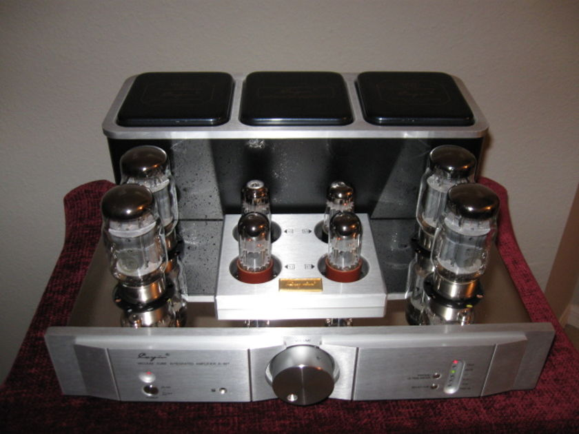 "CAYIN AUDIO A-88T All Tube Integrated Amplifier w/ Remote ""Award Winning"" Mimics the McIntosh MC275"