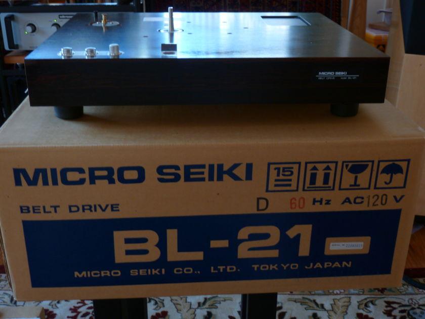 Micro Seiki  BL  21 Belt Drive