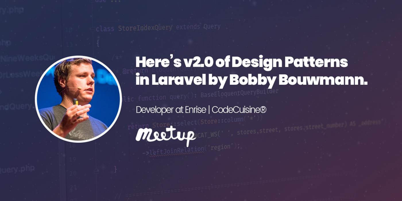 Here's v2.0 of Design Patterns in Laravel by Bobby Bouwmann