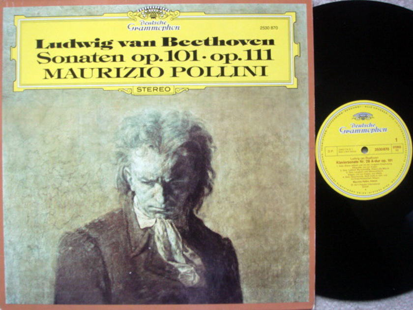 DG / MAURIZIO POLLINI, - Beethoven Piano Sonatas No.28 & 32, MINT!