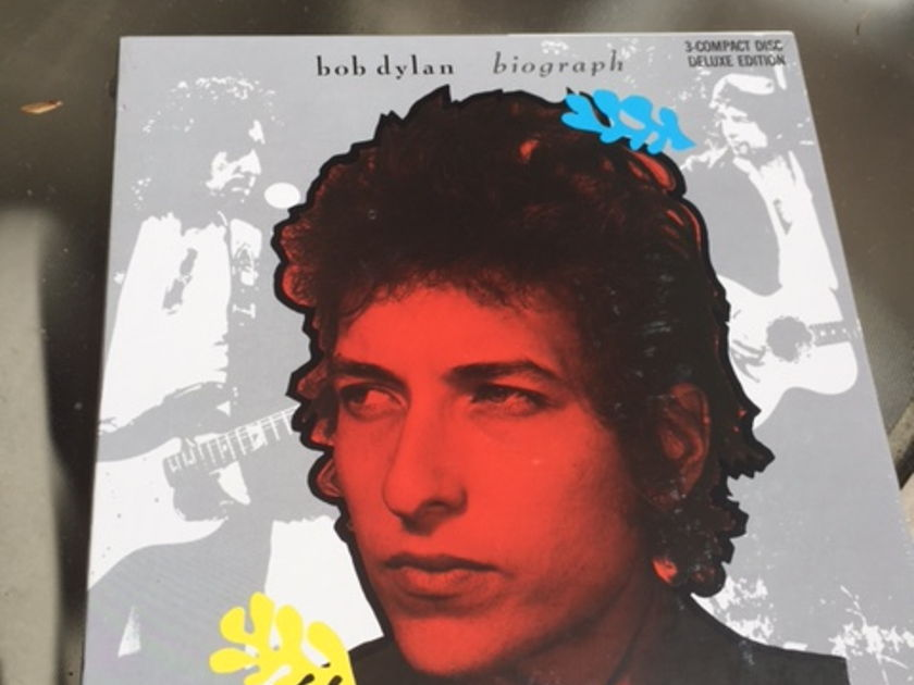 Bob Dylan - Biograph 3 CD Deluxe Edition Sealed
