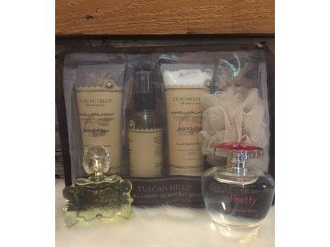 Vanilla Almond Lotion and Designer Perfume