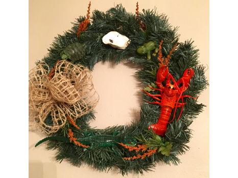 Louisiana Door Wreath
