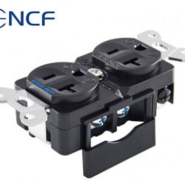 GTX-D NCF Outlet + GTX Wall Plate + 104-D Cover