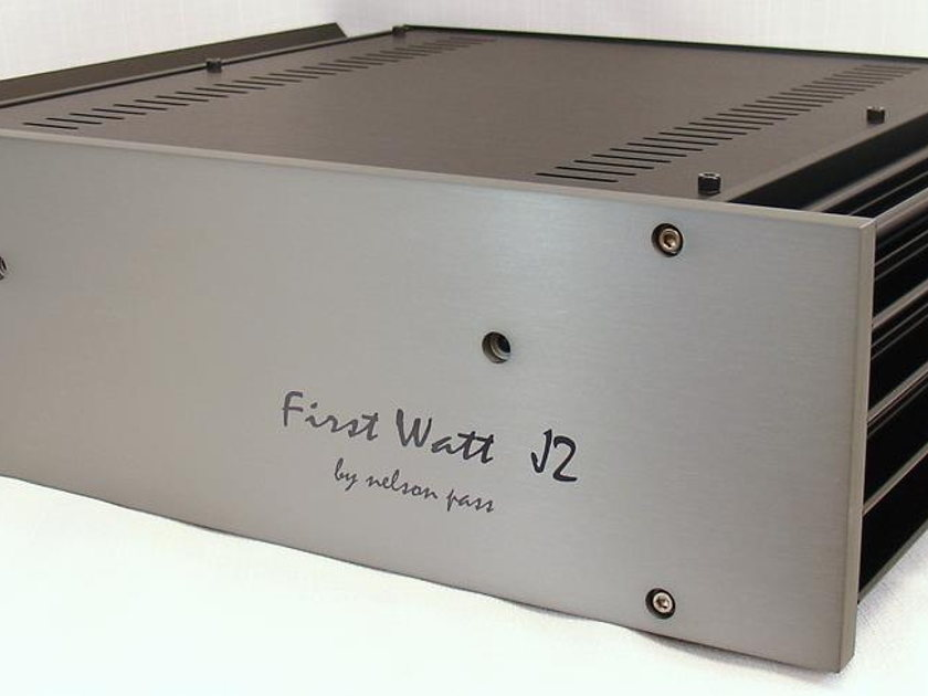 Pass Labs / First Watt J2  120V used in excellent condition FALL SALE at Reno Hi Fi