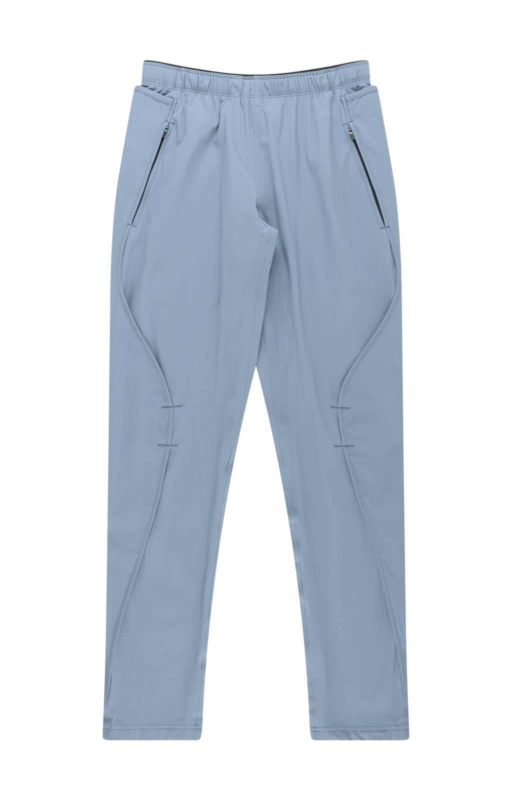 PURITY - METICULOUS CRAFTSMANSHIP, A BEAUTIFUL TRAVEL PANT DUST BLUE