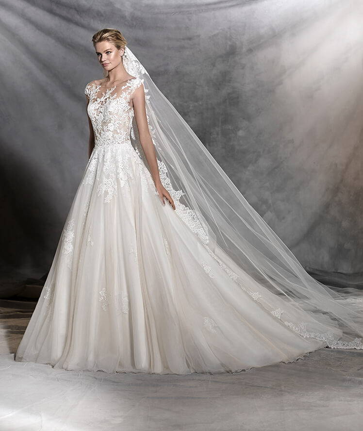 PRONOVIAS OFELIA WEDDING DRESS