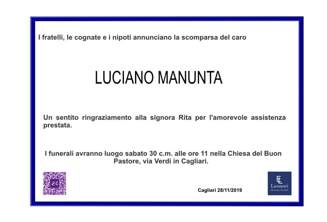Luciano Manunta