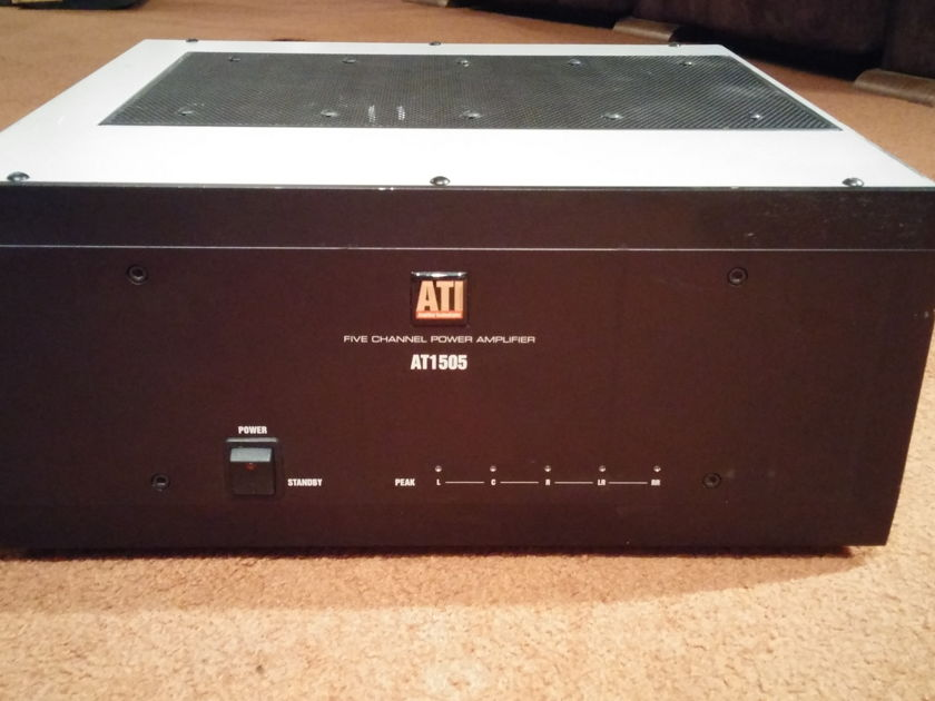 ATI AT1505 5 Channel Amplifier