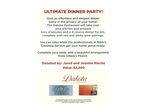 Ultimate Dinner Party!