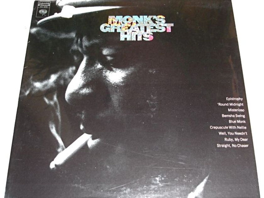 MONK - MONK'S GREATEST HITS SEALED
