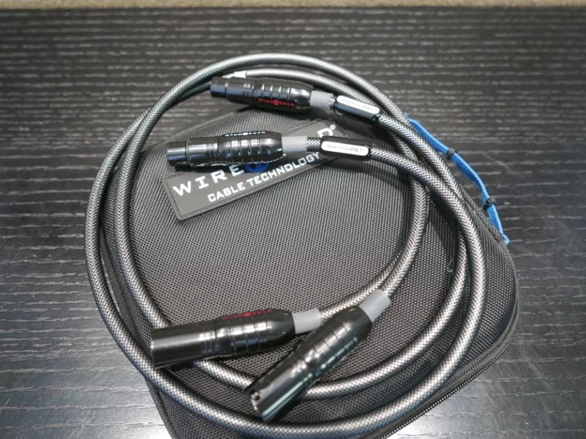 Wireworld Silver Eclipse 7 Balanced XLR Interconnects 1m Excellent