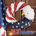 american eagle wreath,door wreaths, wreath you 'll love in 2020, front door wreath