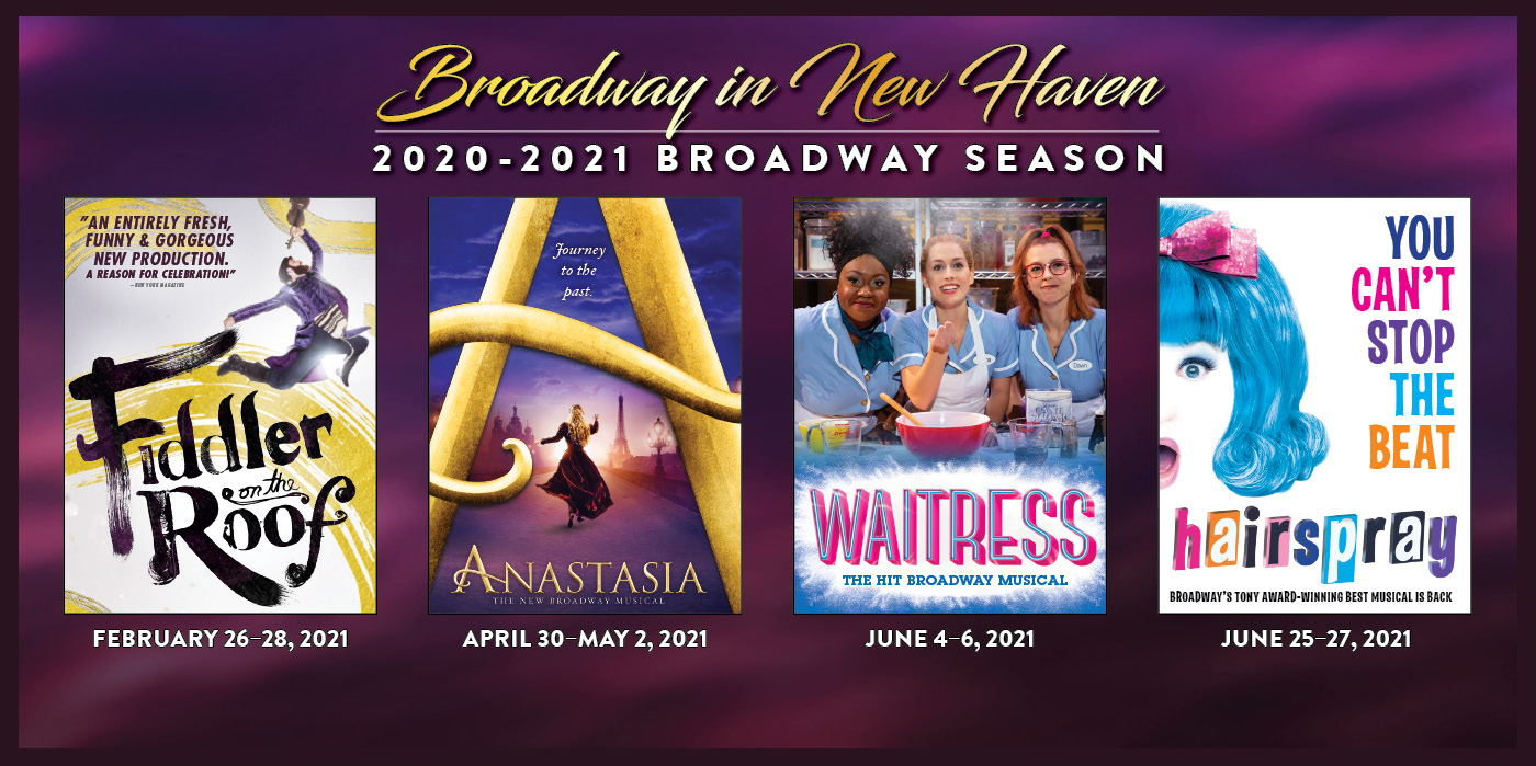 2020-2021 BROADWAY SERIES SEASON TICKETS