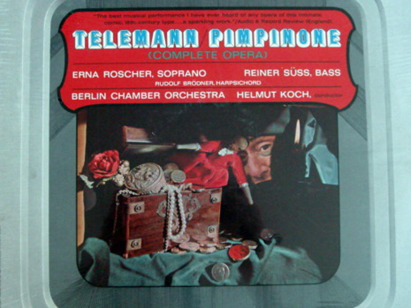 ★Sealed★ Philips /  - KOCH, Telemann Pimpinone!