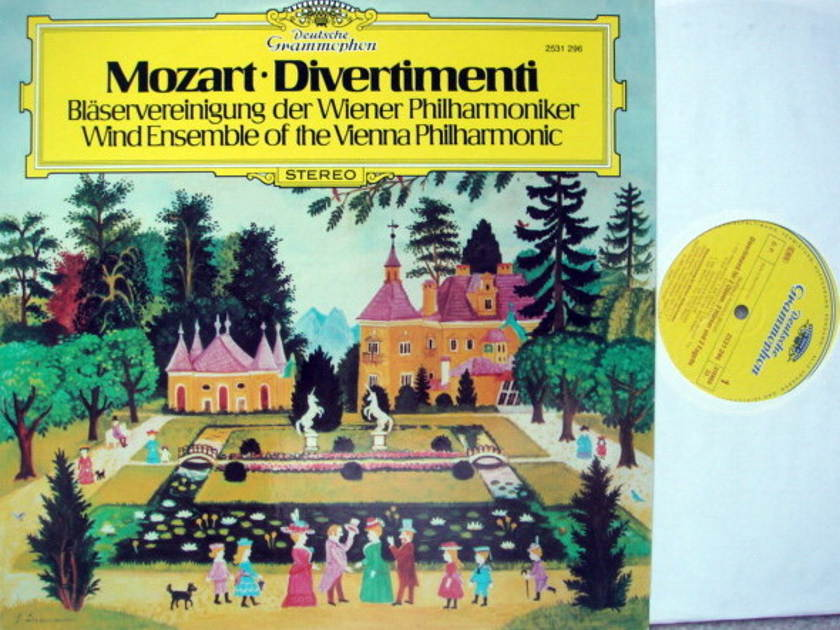 DG / VIENNA WIND ENSEMBLE, - Mozart Divertimentos, MINT!