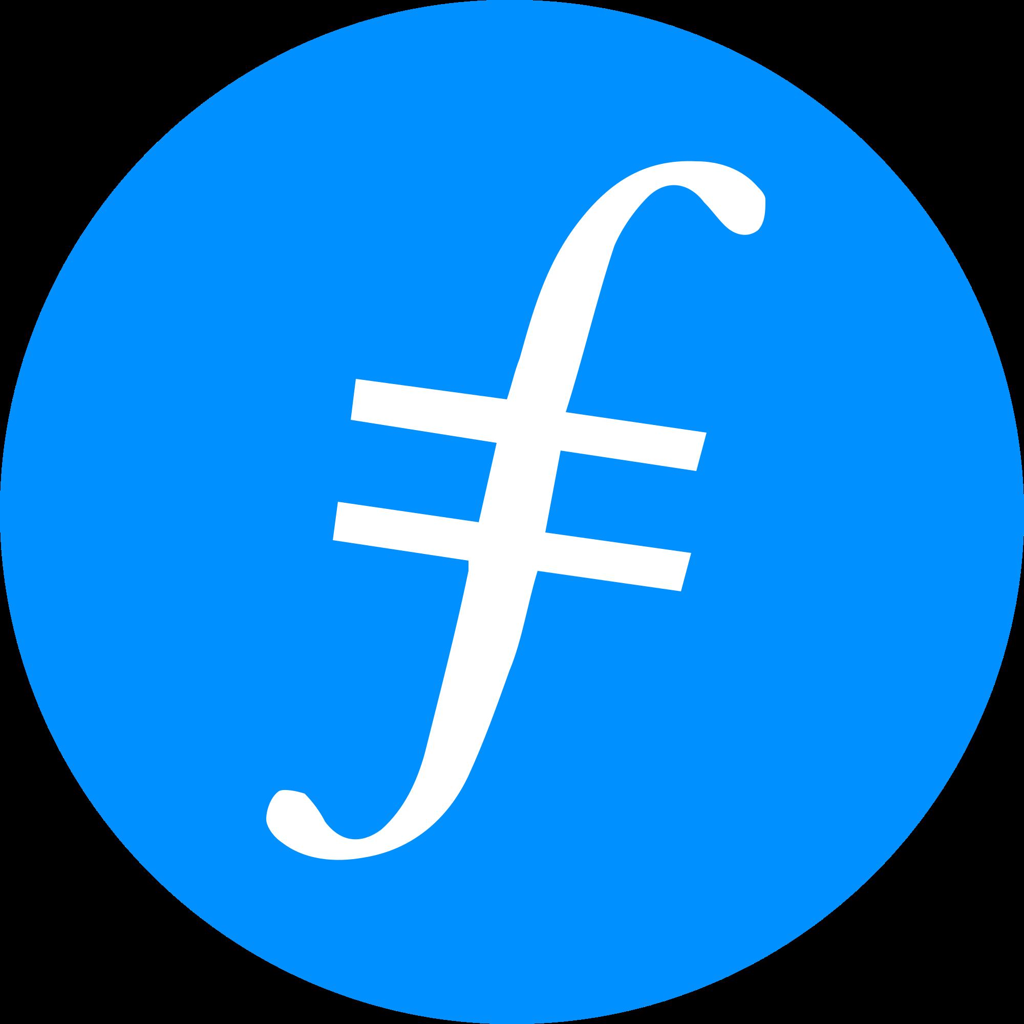Filecoin fil logo