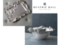 Beatriz Ball Vento Set of Rectangular Tray and Round Bowl