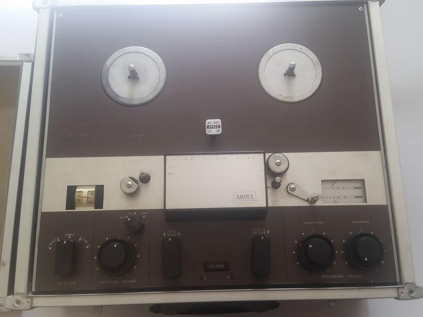 Ampex F-4460 STEREO ALL TUBE REEL quarter track stereo
