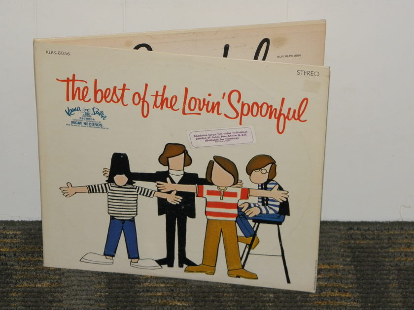 "The Lovin Spoonful - ""The Best Of The Lovin Spoonful"" Kama Sutra KLPS 8056"