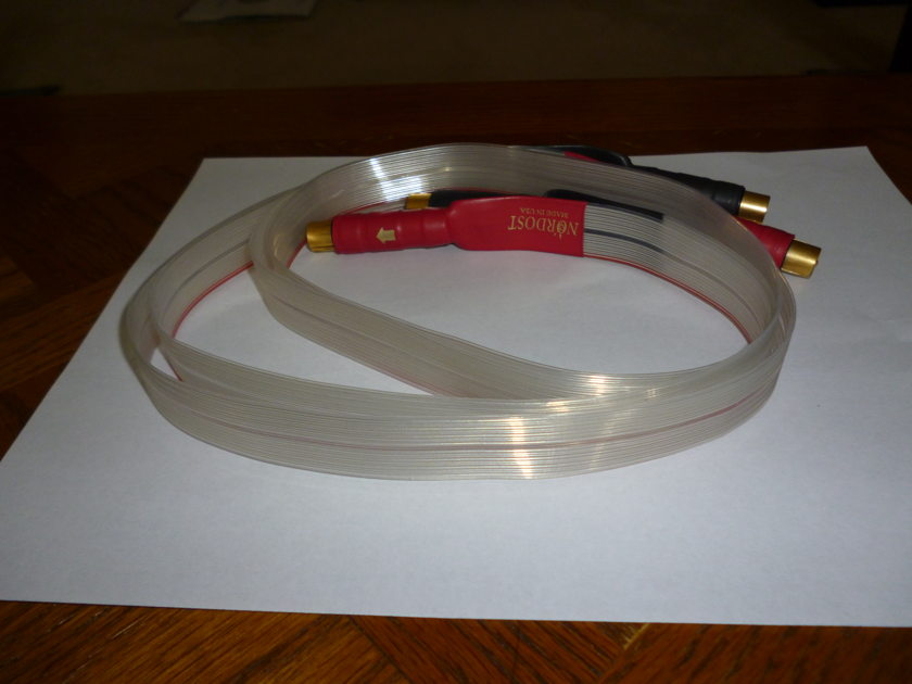 Nordost  Red Dawn 1M RCA interconnects