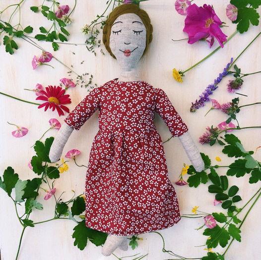 Льняная кукла Марфушечка