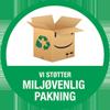 miljøvenlig pakning logo