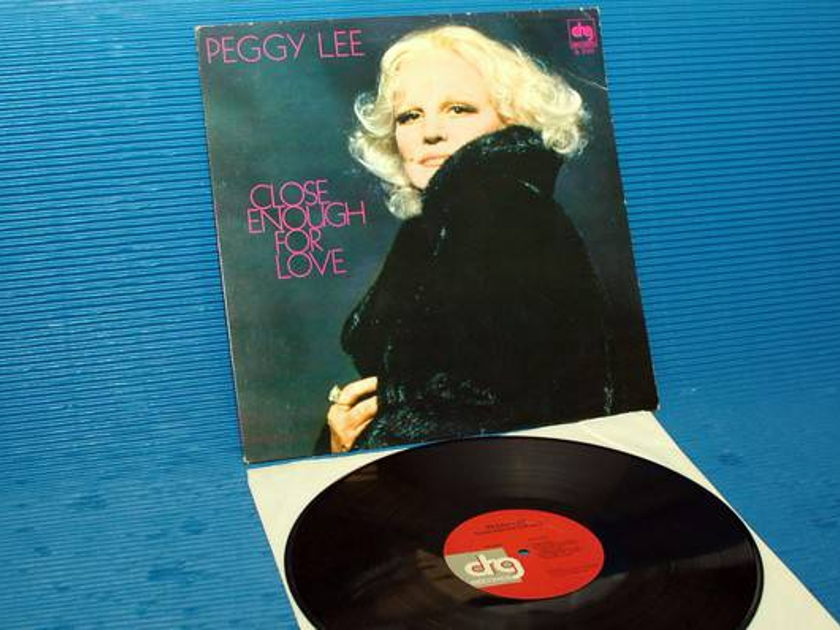 "PEGGY LEE -  - ""Close Enough For Love"" - DRG 1979 promo"