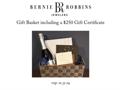 Bernie Robbins Jeweler Basket