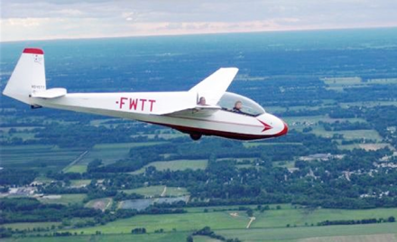 Soaring with RSR at Sandhill Soaring Club