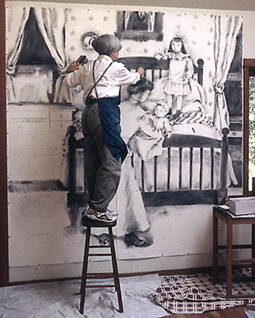 Marilyn Lanfear at work