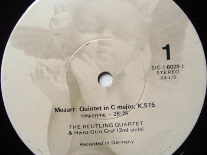 EMI Angel Seraphim / HEUTLING QT, - Mozart The Complete String Quintets, NM, 3LP Box Set!