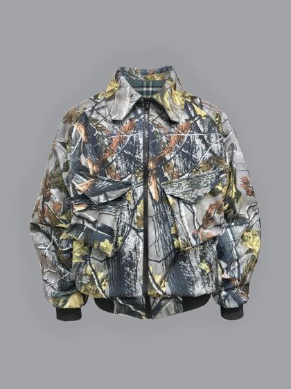 Двусторонняя куртка харрингтон