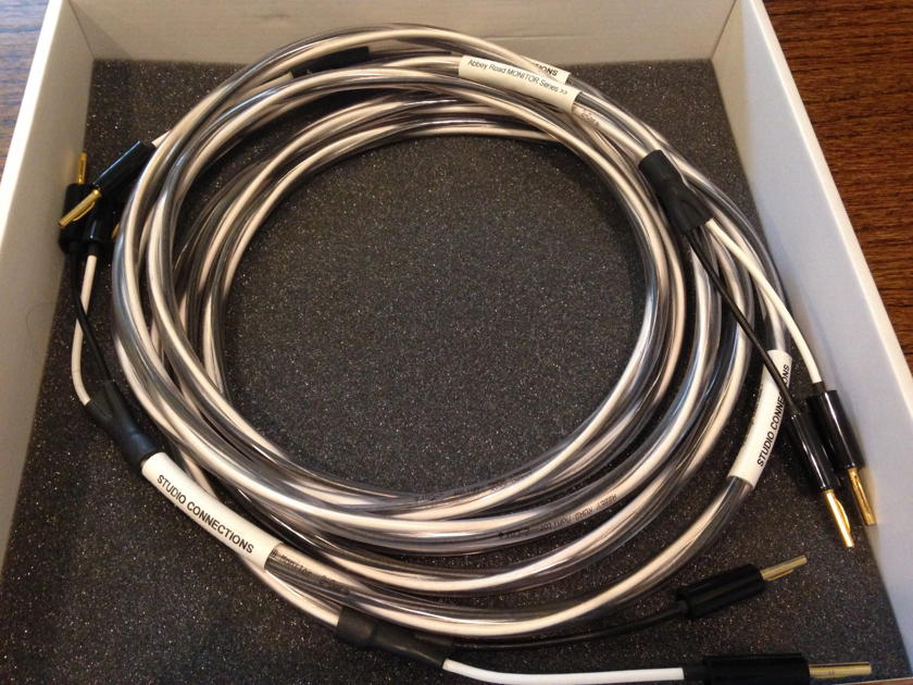 Studio Connections Monitor Speaker Cables (2.5 m, Banana, Single)