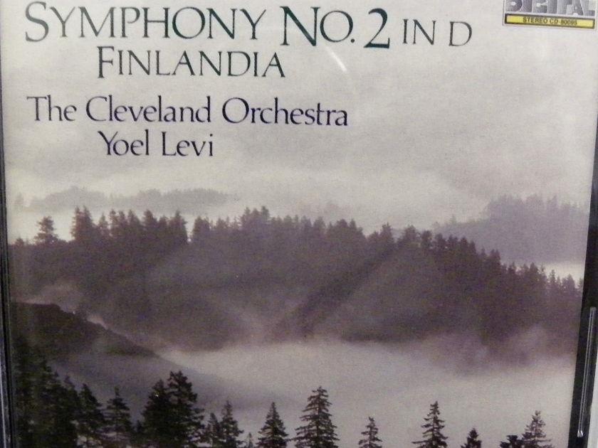 YOEL LEVI - SIBELIUS SYMPHONY NO. 2 TELARC CD