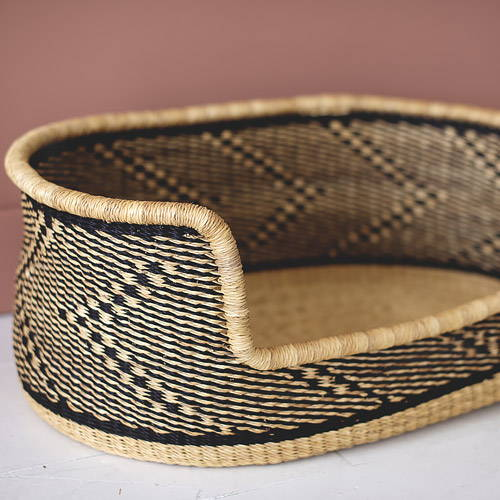Collection of handmade Dog beds and woven dog beds