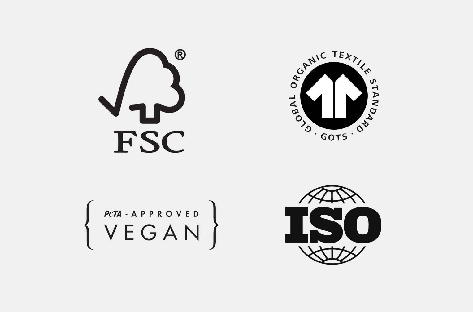 Responsible sourcing certifications
