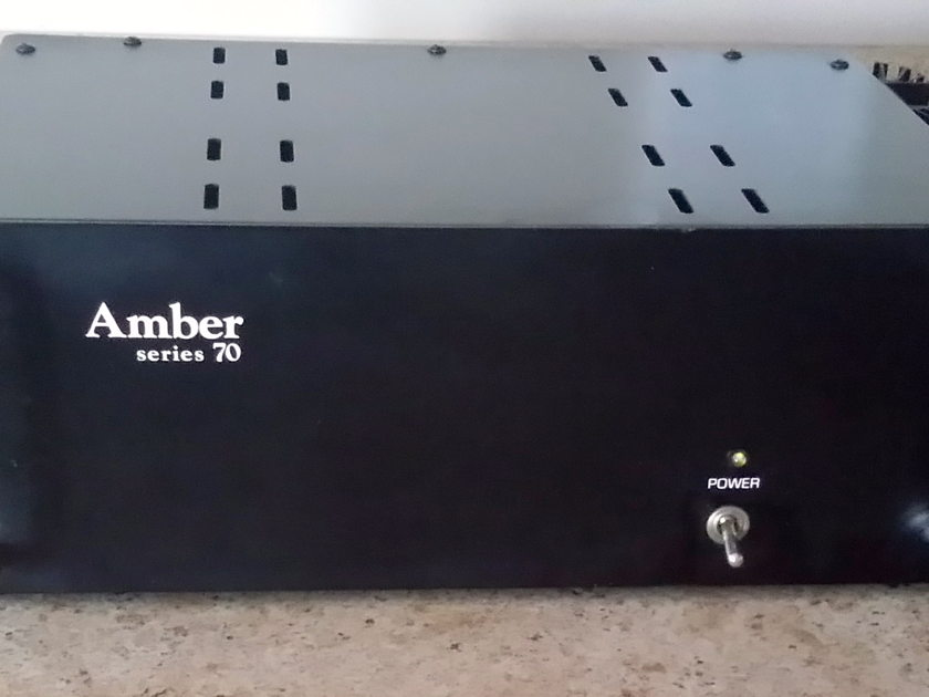 Amber Electronics Series 70 Stereo or Mono upgraded to IEC detachable