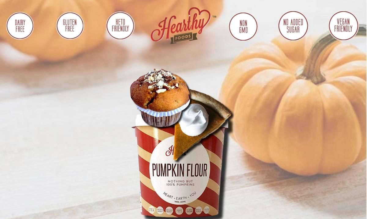 non-gmo Pumpkin Flour