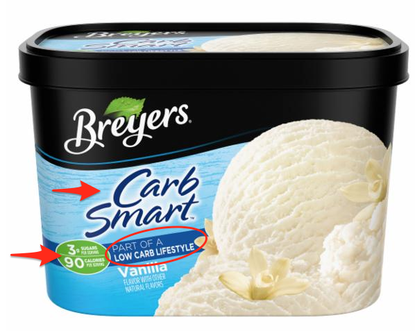 breyers carb smart ice cream