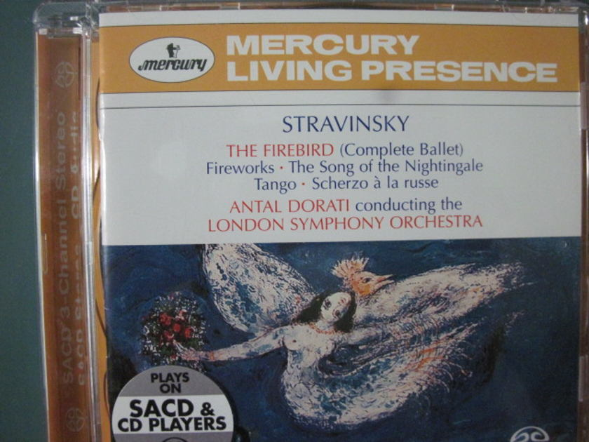 Stravinsky The Firebird (complete ballet) - Dorati, London Symphony Orch SACD in like new condition